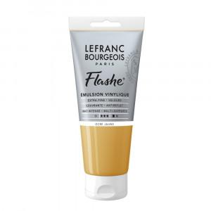 Tinta Acrílica Flashe Lefranc & Bourgeois 80ml S1 302 Yellow Ochre
