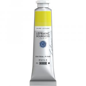 Tinta Óleo Extra Fine L&B 40ml S3 767 Lefranc Yellow