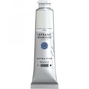Tinta Óleo Extra Fine Lefranc & Bourgeois 40ml 013 Titanium-Zinc White