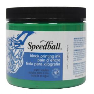 Tinta Para Xilogravura Speedball 470ml Verde 3704