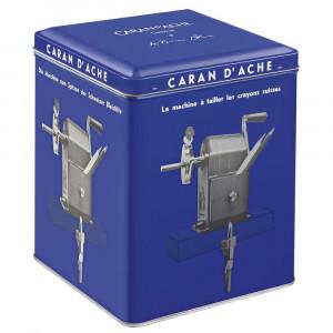 Apontador de Lápis Manivela Caran d'Ache Klein Blue - Colecionador