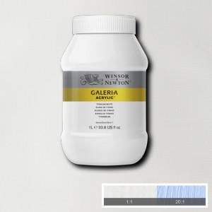 Tinta Acrílica Galeria Winsor & Newton 1L 644 Titanium White
