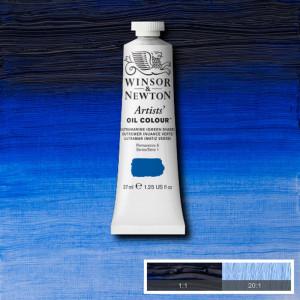 Tinta Óleo Artist 37ml Winsor & Newton S1 667 Ultramarine Green Shade
