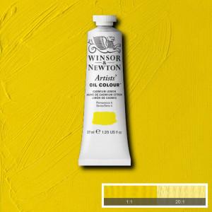 Tinta Óleo Artist 37ml Winsor & Newton S4 086 Cadmium Lemon