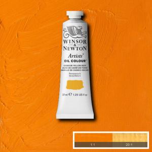 Tinta Óleo Artist 37ml Winsor & Newton S4 111 Cadmium Yellow Deep