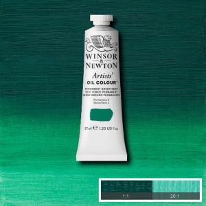 Tinta Óleo Artist 37ml Winsor & Newton S2 482 Permanent Green Deep