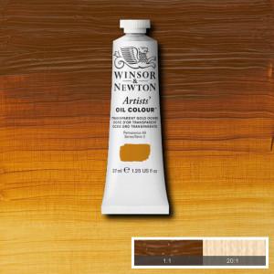 Tinta Óleo Artist 37ml Winsor & Newton S2 646 Transparent Gold Ochre