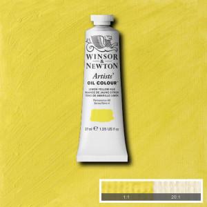 Tinta Óleo Artist 37ml Winsor & Newton S4 347 Lemon Yellow Hue