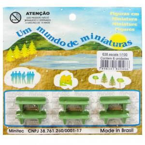 Miniatura de Banco 1/100 638 Minitec 06 Peças