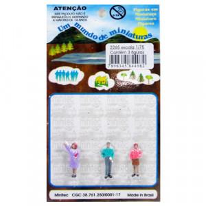 Figuras Para Maquetes 1/75 2265 Minitec 03 Peças