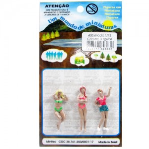 Figuras Para Maquetes 1/43 408 Minitec 03 Peças