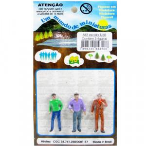 Figuras Para Maquetes 1/50 682 Minitec 03 Peças