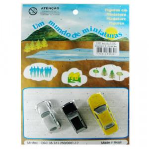 Miniatura de Carros 1/100 1107 Minitec 03 Peças