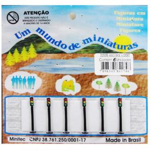 Miniatura de Semáforo 1/200 2205 Minitec 06 Peças