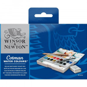 Aquarela Cotman Winsor & Newton Deluxe Sketchers