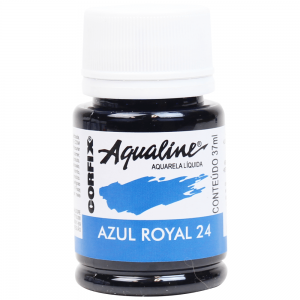 Aqualine Aquarela Líquida 24 Azul Royal 37ml Corfix