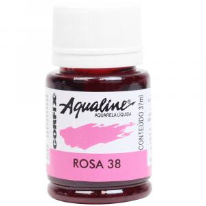 Aqualine Aquarela Líquida 38 Rosa 37ml Corfix