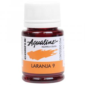 Aqualine Aquarela Líquida 09 Laranja 37ml Corfix