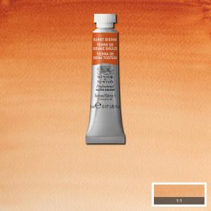Tinta Aquarela Profissional Winsor & Newton Tubo 5ml S1 074 Burnt Sienna