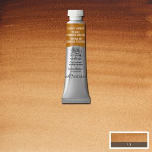 Tinta Aquarela Profissional Winsor & Newton Tubo 5ml S1 076 Burnt Umber