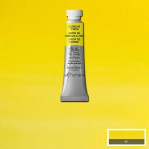 Tinta Aquarela Profissional Winsor & Newton Tubo 5ml S4 086 Cadmium Lemon