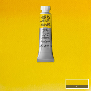 Tinta Aquarela Profissional Winsor & Newton Tubo 5ml S4 118 Cadmium Yellow Pale