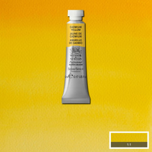 Tinta Aquarela Profissional Winsor & Newton Tubo 5ml S4 108 Cadmium Yellow