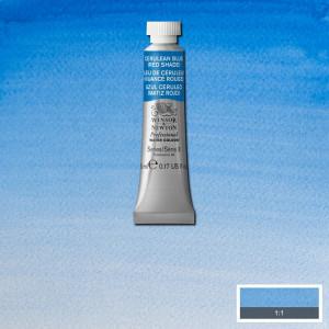 Tinta Aquarela Profissional Winsor & Newton Tubo 5ml S3 140 Cerulean Blue (Red Shade)