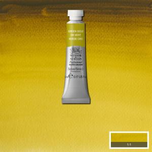 Tinta Aquarela Profissional Winsor & Newton Tubo 5ml S2 294 Green Gold