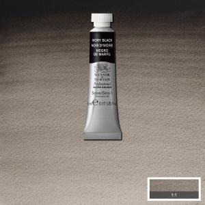 Tinta Aquarela Profissional Winsor & Newton Tubo 5ml S1 331 Ivory Black