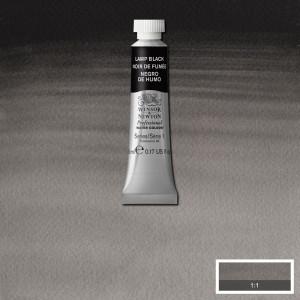 Tinta Aquarela Profissional Winsor & Newton Tubo 5ml S1 337 Lamp Black