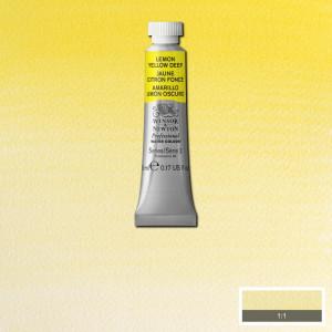 Tinta Aquarela Profissional Winsor & Newton Tubo 5ml S2 348 Lemon Yellow Deep