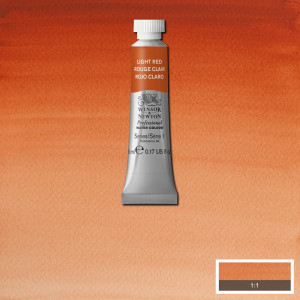 Tinta Aquarela Profissional Winsor & Newton Tubo 5ml S1 362 Light Red