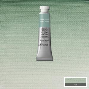 Tinta Aquarela Profissional Winsor & Newton Tubo 5ml S1 637 Terre Verte