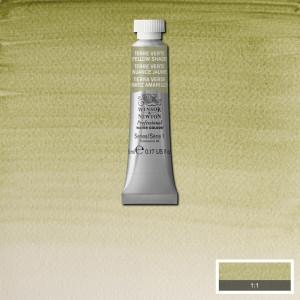 Tinta Aquarela Profissional Winsor & Newton Tubo 5ml S1 638 Terre Verte (Yellow Shade)