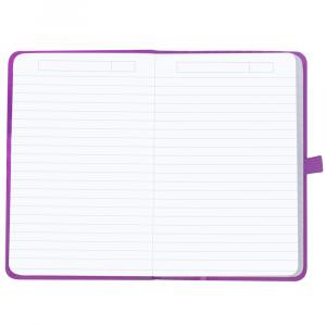 Caderneta Pautada Oxford Signature A6 Violeta