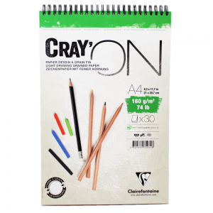 Caderno Cray'ON Clairefontaine A4