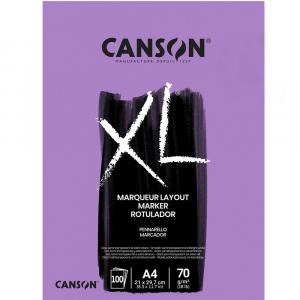 Bloco Para Marcador Canson XL Marquer A4 70g/m² 100 Fl.