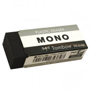 Borracha Mono Tombow Preta Pequena PE-01AB