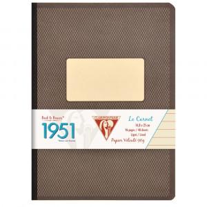 Caderno Pautado 1951 Clairefontaine A5 Preto