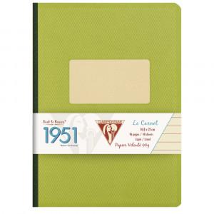 Caderno Pautado 1951 Clairefontaine A5 Verde