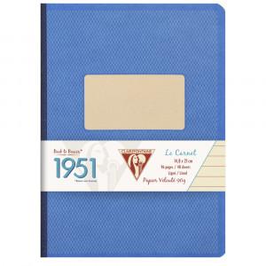 Caderno Pautado 1951 Clairefontaine A5 Azul