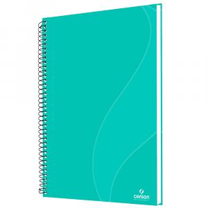Caderno Para Desenho Canson A4 40 Folhas - Verde