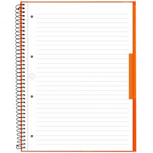 Caderno Universitário Canson A4 80 Folhas - Laranja