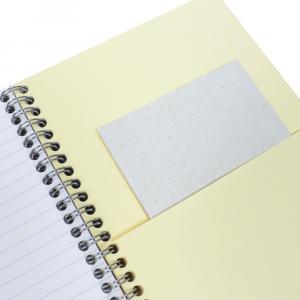 Caderno Pautado Pocket Book Clairefontaine A5+ Preto
