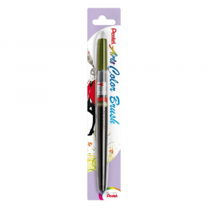 Caneta Pincel Aquarela Color Brush Pentel Turquoise 114