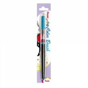 Caneta Pincel Aquarela Color Brush Pentel Sky Blue 110