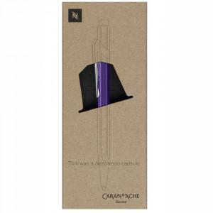 Caneta Esferográfica Caran d'Ache 849 Nespresso Púrpura