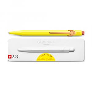 Caneta Esferográfica Caran d'Ache 849 Claim Your Style Canary Yellow Edição Limitada