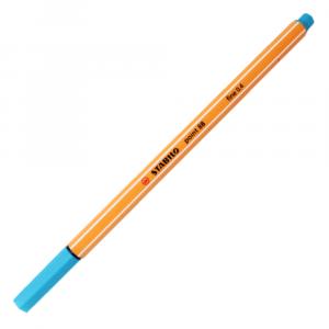 Caneta Point 88 Stabilo 0.4mm 31 Azul Céu